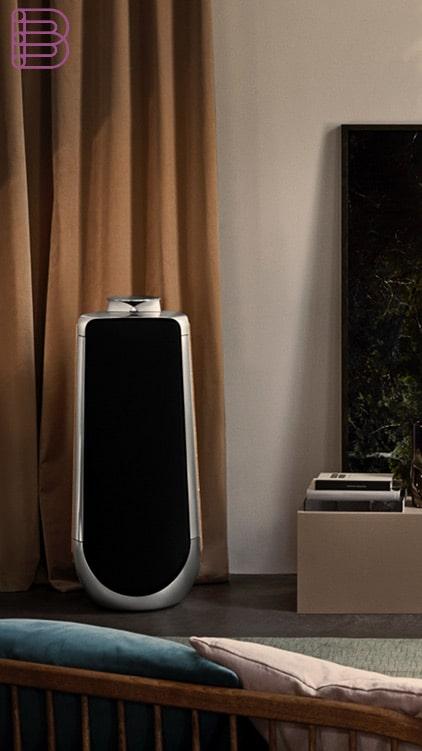 bang olufsen beolab 50 speaker best of high end. Black Bedroom Furniture Sets. Home Design Ideas