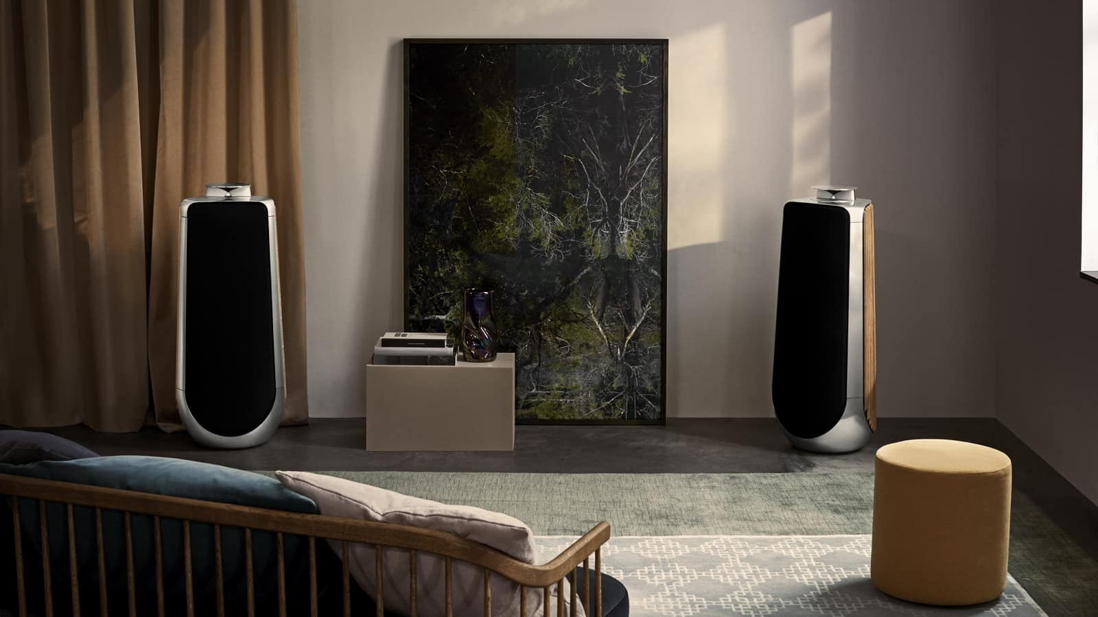 bang olufsen beolab 50 speaker best of high end. Black Bedroom Furniture Sets. Home Design Ideas