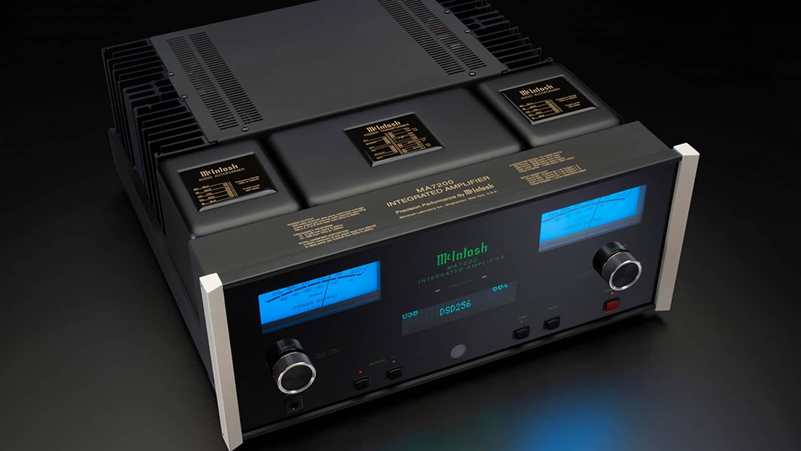 Electa Amator 2 >> McIntosh MA7200 stereo integrated amplifier | best of high end