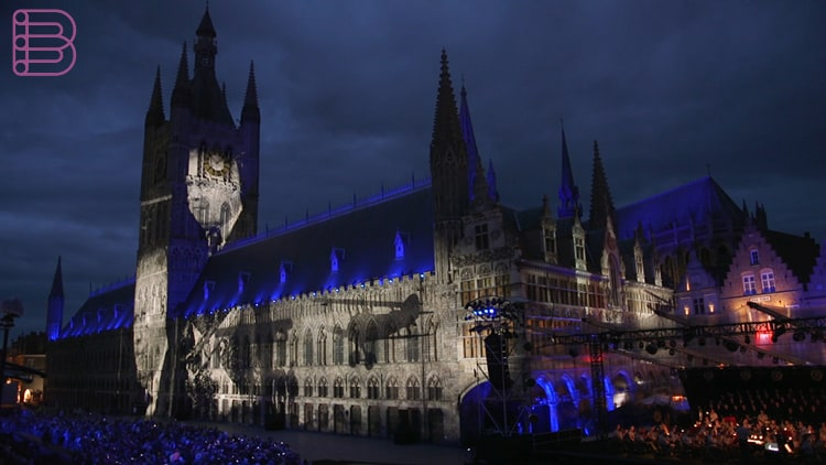 panasonic-projection-for-passchendaele-remembrance-ceremony-2