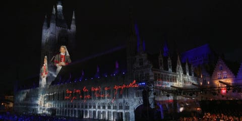 panasonic-projection-for-passchendaele-remembrance-ceremony