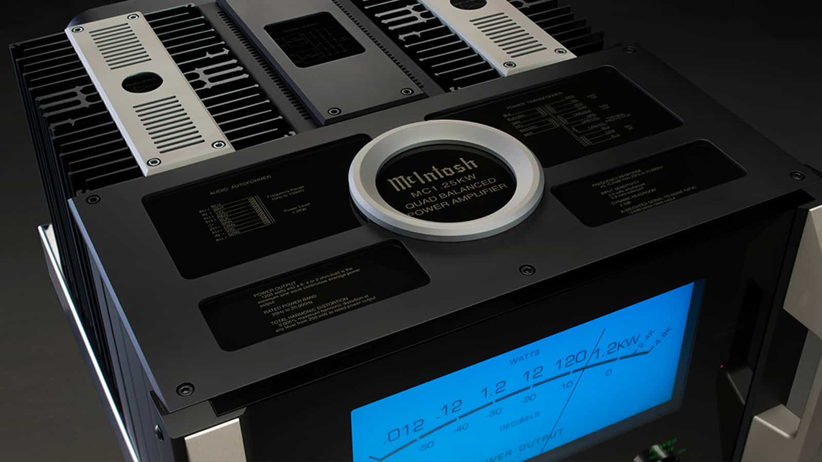 mcintosh-mc125kw-power-amplifier