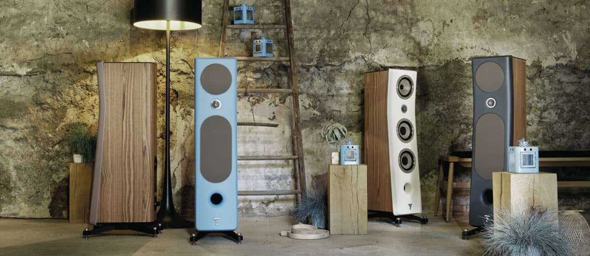 Three new Kanta loudspeakers from Focal