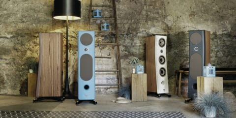 Three new Kanta loudspeakers from Focal