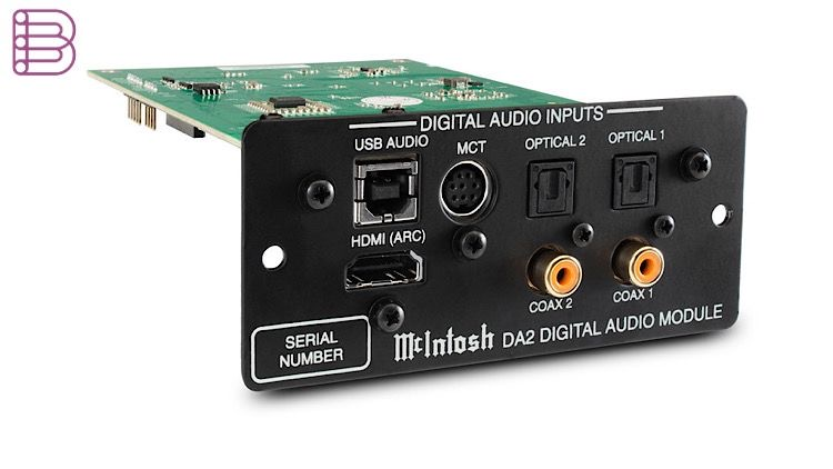 McIntosh DA2 upgrade kit front view