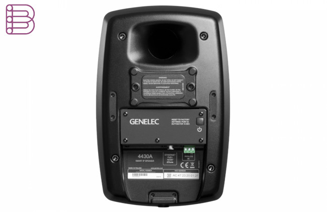 genelec-4430-smart-ip-installation-speaker-back-view